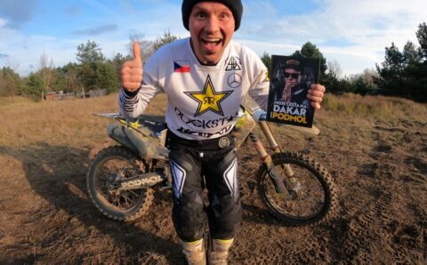 Libor Podmol vydal další knihu – Moje cesta na Dakar