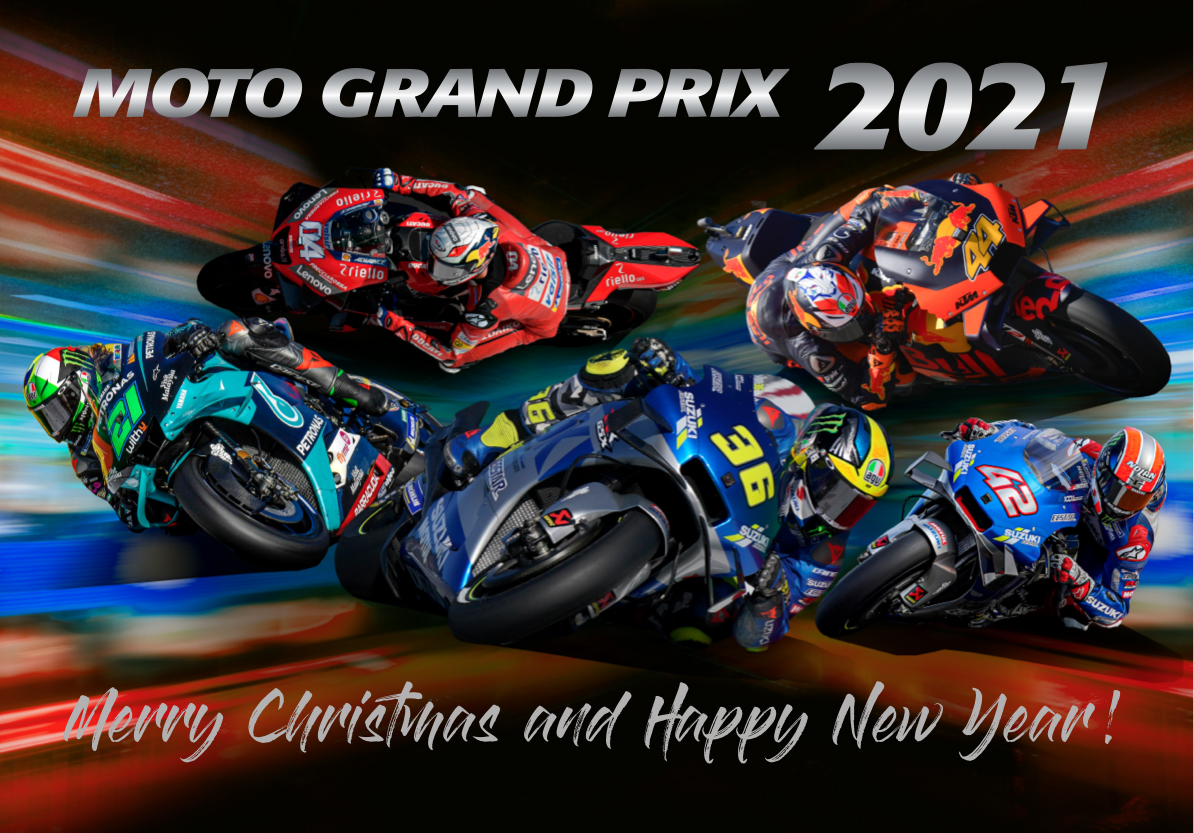 MotoGP fotokniha 2020 a kalendáře 2021